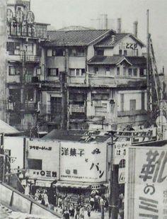 昭和スポット巡り on Twitter  昭和30年代前半 新宿東口駅前 新宿通り付近