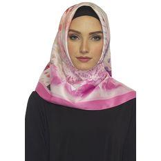 Hijabstore - Angel Lelga Original Scarf 261 Motif - Magenta