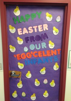 Happy Easter from our Egg'celent Infants