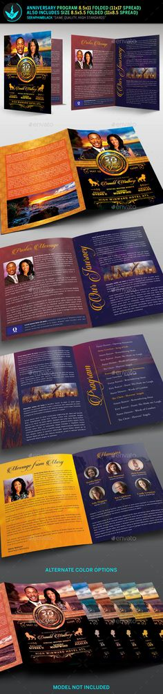 Gloria Christmas Cantata Program Template Program template and - church program