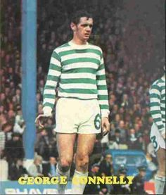 George Connelly of Celtic in Celtic Fc, Football Soccer, Glasgow, Legends, Ford, Scotland, Emerald, Club, Emeralds