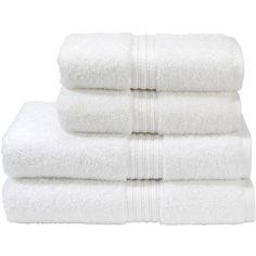 Christy Plush Towel - White - Face Cloth ($2) ❤ liked on Polyvore featuring home, bed & bath, bath, bath towels, fillers, bathroom related, white bath towels, terry bath towel, christy bath towels and plush bath towels