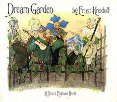 Ernst Kreidolf - Dream Garden  Published by Green Tiger Press in 1979