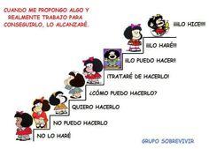 Mafalda progresar