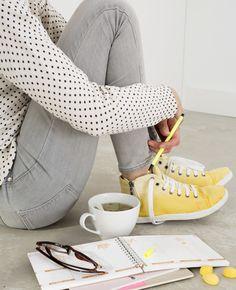 Zelf dip dye gympen maken | Flairathome.nl #zelfmaken #diy #FlairNL | Styling: @femkepastijn | Fotografie: @danafotografie