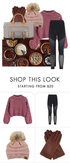 """""""Fall/Winter outfit idea"""" by rachelcakridge on Polyvore featuring Sweet Note, adidas, C.C, Dents and Moshi"""