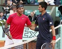 ¡Rafa Nadal consigue su séptimo Roland Garros! Vence al serbio Novak Djokovic por 6-4, 6-3, 2-6 y 7-5. Más en  http://www.rtve.es/n/534552