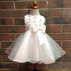 Rhinestone Flower Girl Dress Vintage Junior Bridesmaid Tutu Dress - Rhinestone Christening Baptism Dress MATCH YOUR COLORS on Etsy, $65.00 Tutu Ideas, Rhinestone Dress, Baptism Dress, Granddaughters, Dress Vintage, Christening, Bridesmaids, Baptism Gown, Bridesmaid
