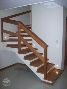 corrimão de escada madeira - Pesquisa Google