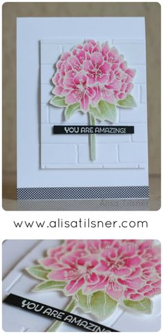 The Artful Stampers Blog Hop Challenge 38, Stampin' Up! Best Thoughts - created by Alisa Tilsner