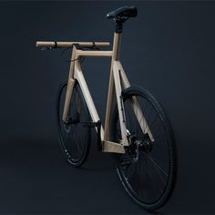The Wooden Bike par Paul Timmer - Journal du Design