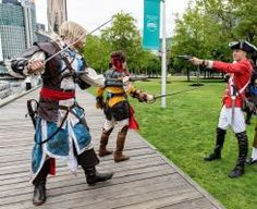 Kenway and Kidd by firedrack James Kidd Cosplay Assassin's creed Assassin's creed cosplay Edward Kenway cosplay Assassins Creed Black FLag