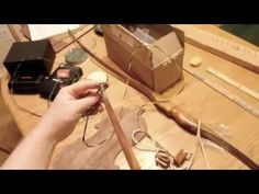How to make a Flemish bowstring