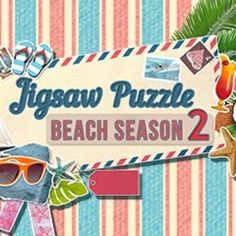 Jigsaw Puzzle: Beach Season 2 Game - Free Download Start planning your summer vacation as you piece together colorful beach puzzles!