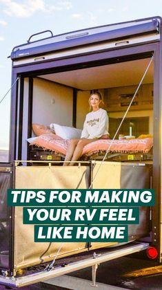 Rv Camping Tips, Class B Camper Van, Enclosed Trailer Camper, Camper Van Conversion Diy, Bus Life, Rv Interior, Garage Makeover, Rv Trailers, Happy Campers