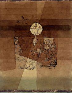 Moon play (1923) Paul Klee