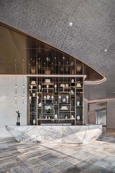 HWCD have been shortlisted for Lobby/Public Area - Global Award Hotel Reception Desk, Reception Desk Design, Modern Hotel Lobby, Hotel Lobby Design, Hotel Foyer, Public Hotel, Luxury Interior Design, Luxury Hotel Design, Luxury Hotels