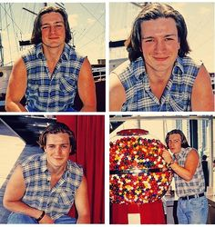 Young Nathan Fillion. He's a baaaaaaby!