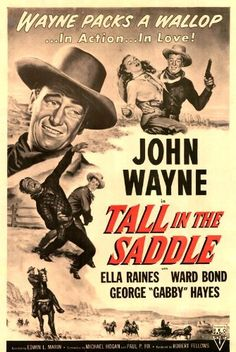 Fantastic A4 Glossy Print - 'Tall In The Saddle' 1944 (3) - Taken From A Rare Vintage Movie / Film Poster by Unknown http://www.amazon.co.uk/dp/B00HROA3YU/ref=cm_sw_r_pi_dp_3WEvvb0KMBSW7
