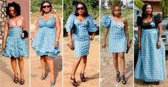ankara plus size fashion
