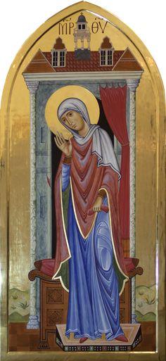 The Annunciation - Aidan Hart Sacred Icons