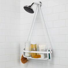 Valkoinen suihkusaippuateline Umbra Bathroom Shop, Bathroom Layout, Bathroom Shelves, Bathroom Organization, Bathroom Ideas, Organized Bathroom, Bathroom Inspo, Porta Shampoo, Plastic Shelves