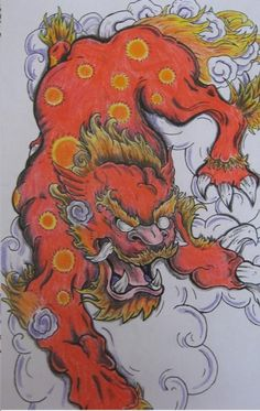 Japanese Foo Dog by ~Tydistus on deviantART