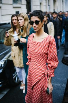 Cheers to wearing gingham all year round