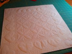 Sunshine in the Attic: Pieced Heart Pillow and Valentine Table Topper