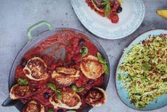 Fritos de Ricota con salsa de tomate y ensalada Courgette «  Jamie Oliver en Español - Recetas de Jamie Oliver en Español - Jamie Oliver 30 ...