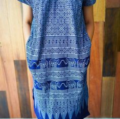 Items similar to Handmade Indigo Cotton Dress (elephant) on Etsy Clothing Co, Cotton Dresses, Fit And Flare, Beautiful Dresses, Indigo, Elephant, Handmade, Etsy, Fashion