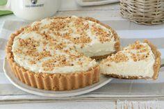 La crostata paradiso fredda e' un dolce freschissimo senza forno semplice e veloce nella preparazione e perfetto per qualsiasi occasione