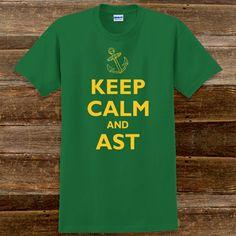 Keep Calm and Alpha Sigma Tau Sorority T-Shirts