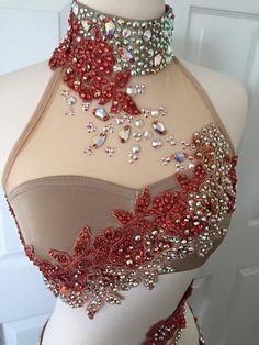 Rave Costumes, Burlesque Costumes, Belly Dance Costumes, Carnival Costumes, Embroidery Fashion, Embroidery Dress, Dance Outfits, Dance Dresses, Bridal Sari
