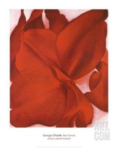Red Cannas Art Print by Georgia O'Keeffe at Art.com