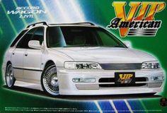 Out of Print - Aoshima 1/24 Scale Accord Wagon 2.2VTL 1/24 VIP - American Series #AOSHIMA