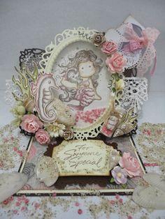 me and my craft corner : My Precious Mermaid Shaker Card