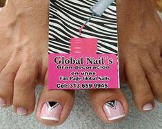 Pedicure Nails, Erika, Sour Cream, Short Nail Manicure, Nail Manicure, Coiffure Facile
