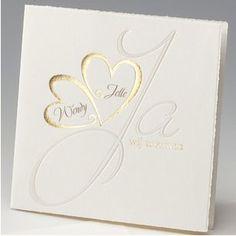 card hearts gold