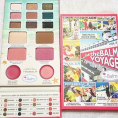 @thebalmeu #balmvoyage palette from Aprils @lookincredible.co.uk deluxe box...a favourite but I already own it!