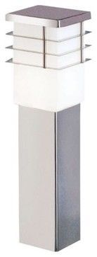 Calgary Post Lamp   Contemporary   Outdoor Lighting   Lumens