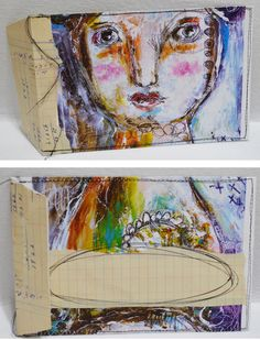 """Every Life Has a Story!"" - {Roben-Marie Smith} - Mail Art Envelope Tutorial..."