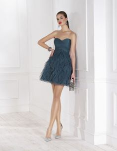 Rochii ocazie/Rochii cununie/Rochii de zi Strapless Dress, Short Dresses, Bride, Outfits, Color, Style, Php, Fashion, 15 Dresses
