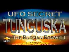 Villagers from central Siberia, near the Tunguska River, witnessed a large glowing object streak across the sky and explode in midair with the force of an atomic blast equal to over 40 megatons, completely destroying miles of forest. Aliens And Ufos, Ancient Aliens, Alien Videos, Alien Theories, Genesis 6, The Seventh Seal, Keep Looking Up, Archaeological Discoveries, Alien Abduction