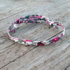 Bracelet liberty, cadeau d'invités de mariage pour femme