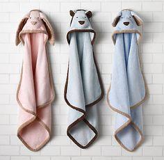 Hooded Infant Towels in 5 easy steps (2 for 1 version)