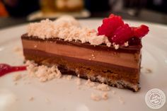 image of peanut butter and jelly mousse at David Burke's Fishtail in NYC, NY
