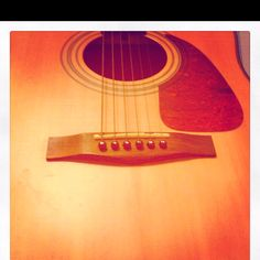 Guitar- I stink at playing, but there's nothing like locking myself in my room and playing worship songs.