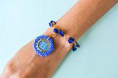 Accesorios piedra natural Handmade Accessories, Natural Stones, Handmade Jewelry, Bangle Bracelets