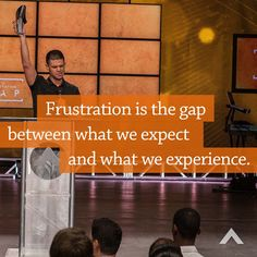 Pastor Steven Furtick at Elevation Church. Pastor Quotes, Quotable Quotes, Bible Verses Quotes, Words Quotes, Sayings, Steven Furtick Quotes, Frustration Quotes, God Loves Me, Way Of Life